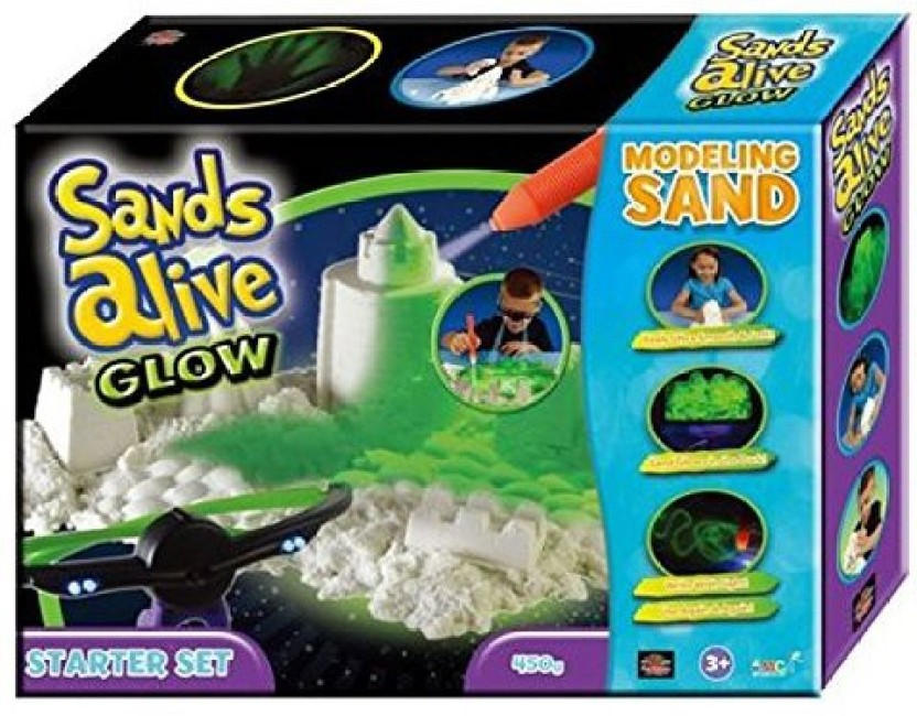 Sands Alive Glow Starter Set by Play Visions