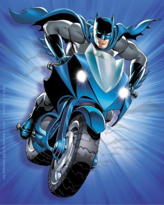Authentic DC Comics BATMAN Suit Braided Steel Bike Cable Lock NEW