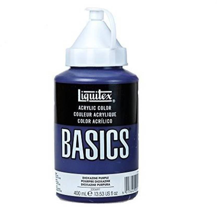 Liquitex Basics Acrylic Paint 13 5oz Squeeze Bottle Dioxazine