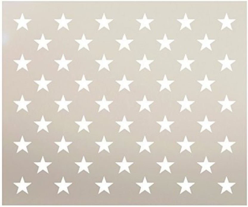 picture regarding 50 Star Stencil Printable identified as American Flag Famous people Template - Regarding Flag Collections