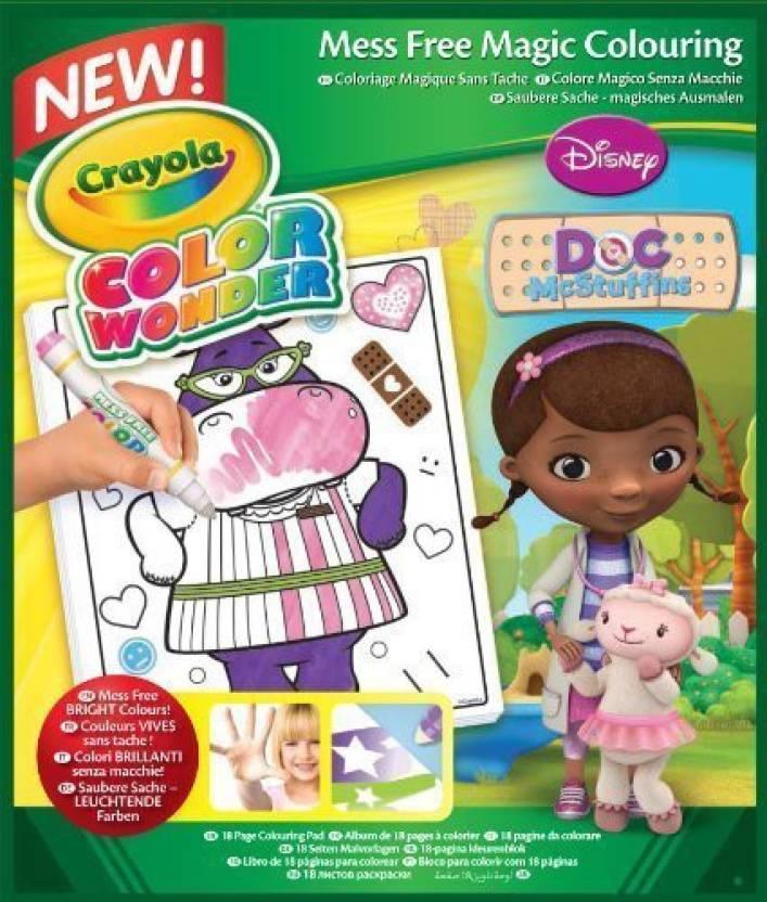 Crayola Color Wonder Coloring Pad Doc Mcstuffins by [Toy] - Color ...