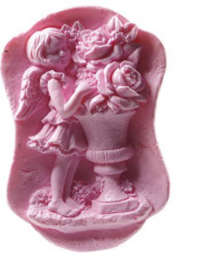 Longzang Angel Mould S407 Craft Art Silicone Soap Mold Craft