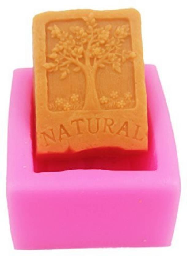 Longzang Natural S0217 Craft Art Silicone Soap Mold Molds Diy Handmade