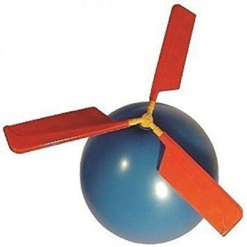Balloon Helicopter Novelty Toy