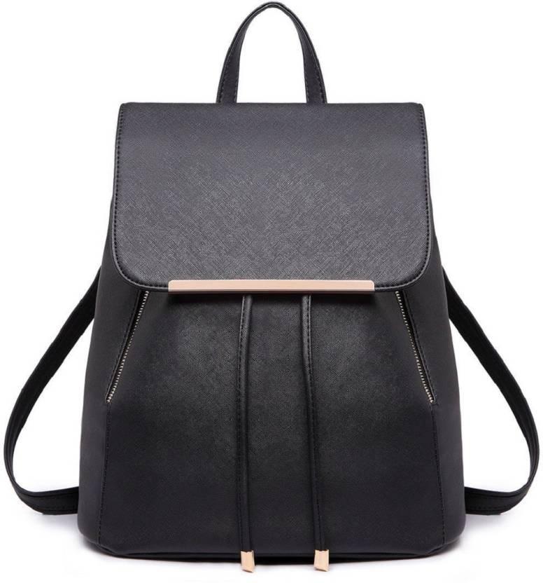 Glory Fashion Women s Backpack Handbag 6 L Backpack Black - Price in ... c4ca2f10d2bfa
