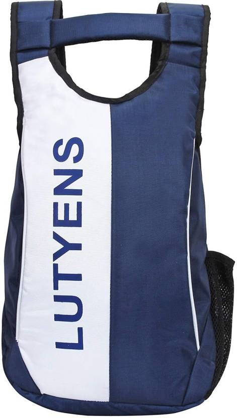 43594d3d44 Lutyens Blue White Smart School Bag