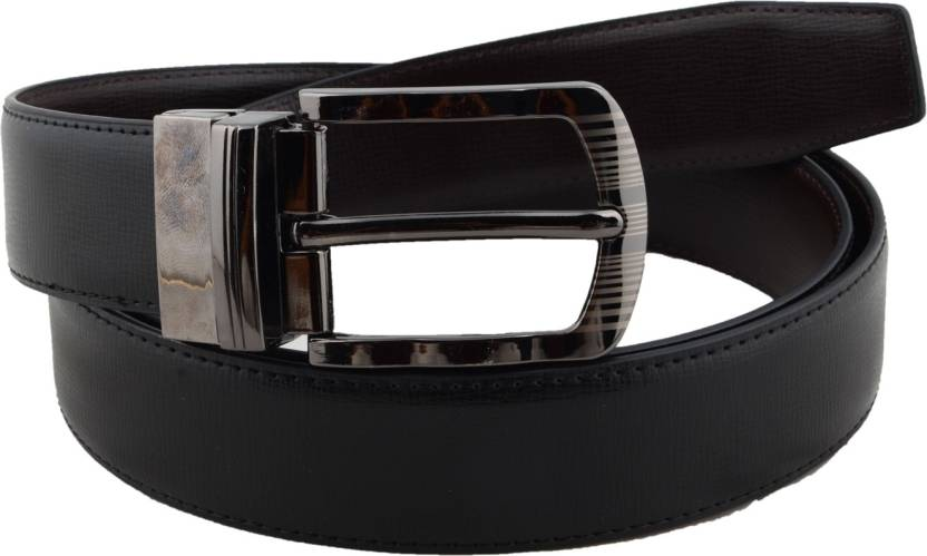 c3a59be9b3ac1 Shree Fashion Men Formal Black Genuine Leather Belt Black - Price in ...