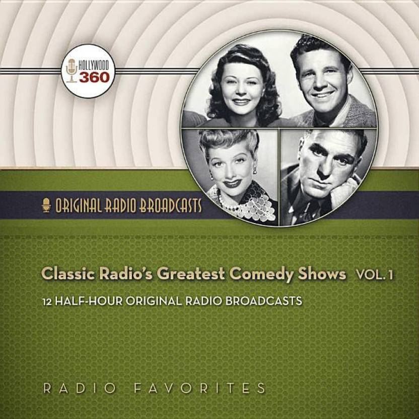 Classic Radio's Greatest Comedy Shows, Vol  1 - Buy Classic Radio's