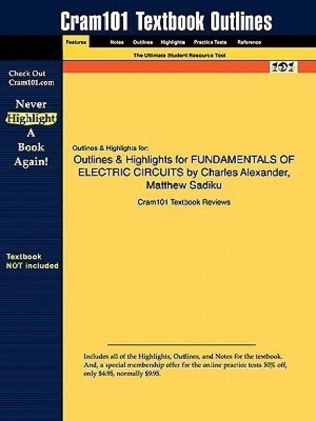 Outlines & Highlights for Fundamentals of Electric Circuits by