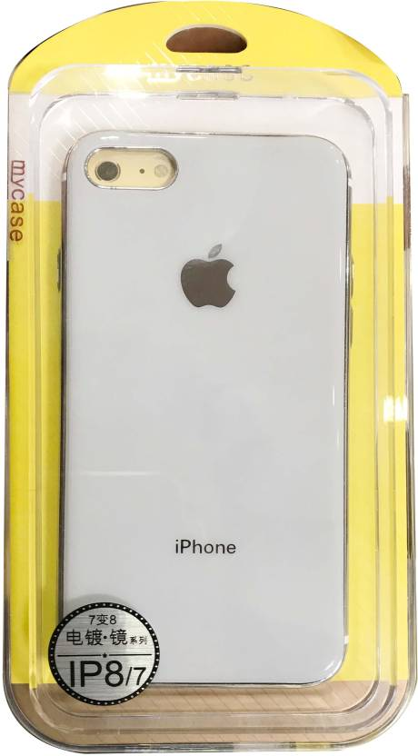 best service e4d09 465d6 My Case Back Cover for Apple iPhone 8 ,White - My Case : Flipkart.com