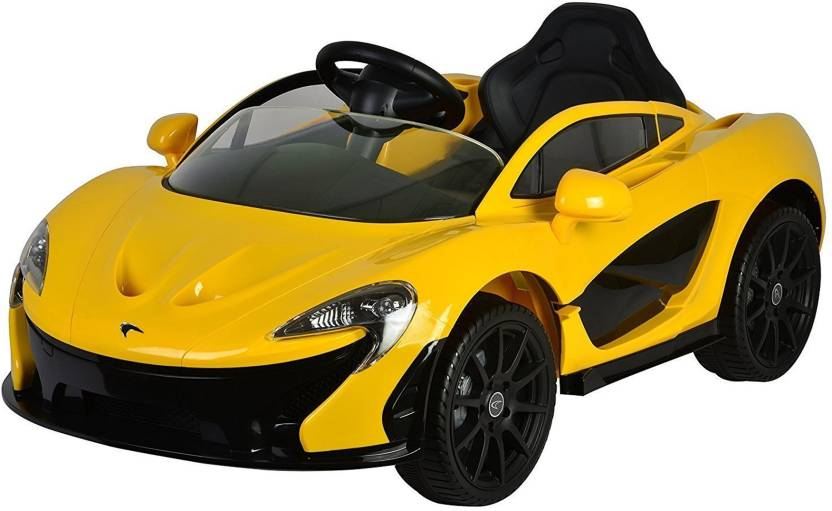 Baybee Licensed Mclaren P1 Battery Operated Ride On Car Mp3 And Usb Player Paal Remote Seatbelt Multicolor