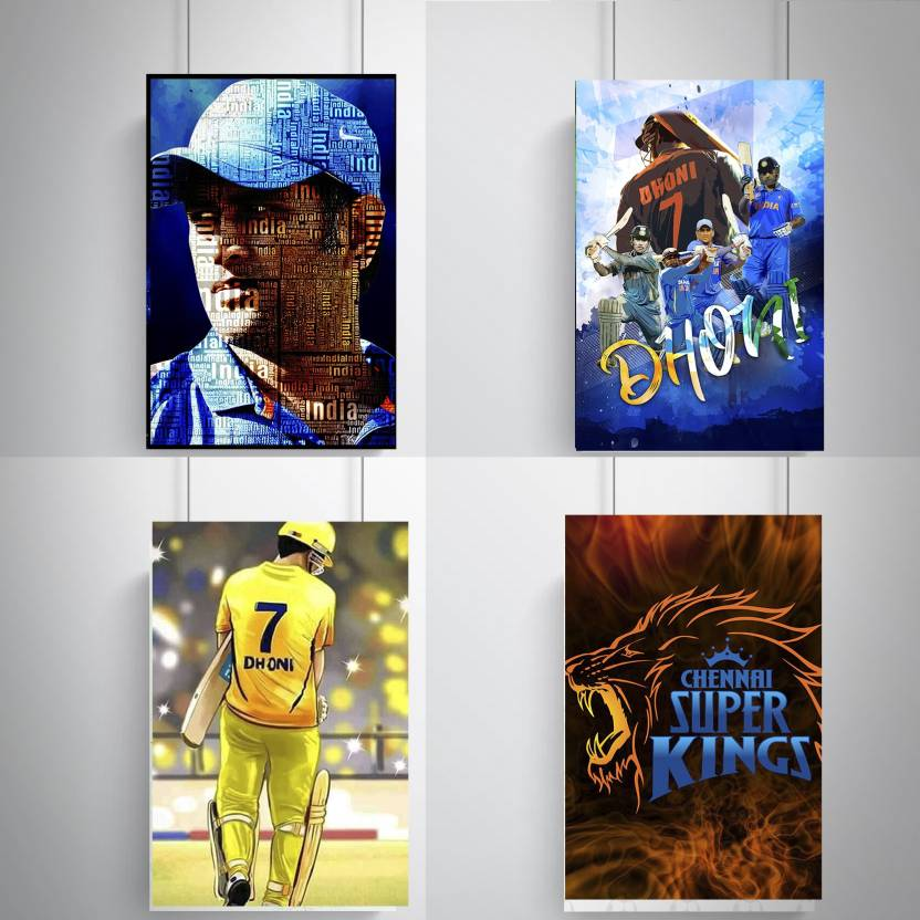 Cool, Trendy, Quirky Posters , M.S. Dhoni design Add Some Quirkiness ...
