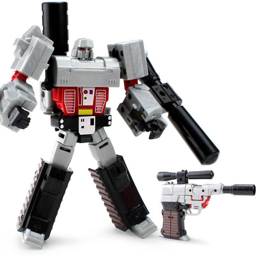 Kiditos Deformation Megatron Action Figure Robot Convert to
