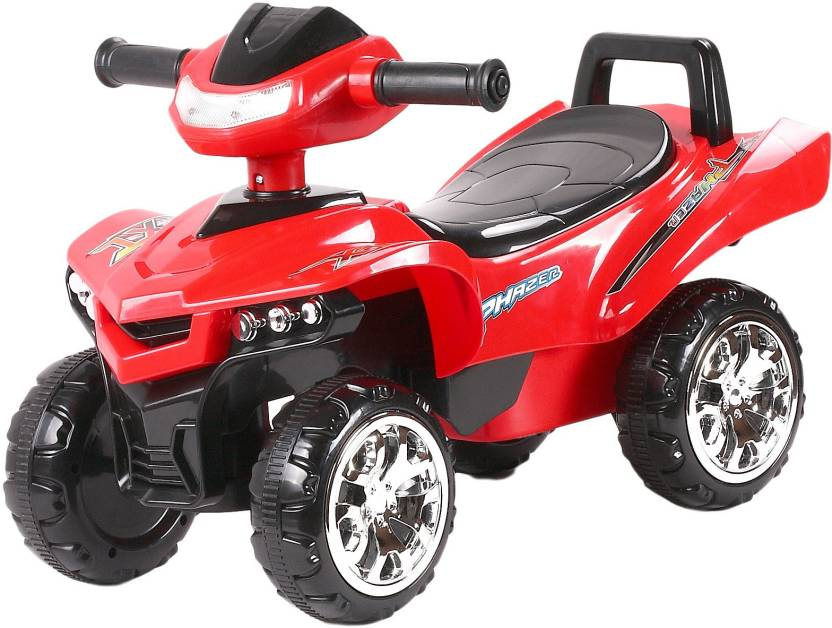 565bf54b962 Toyhouse Racing Turbo Push ATV Bike Non Battery Operated Ride On (Red)