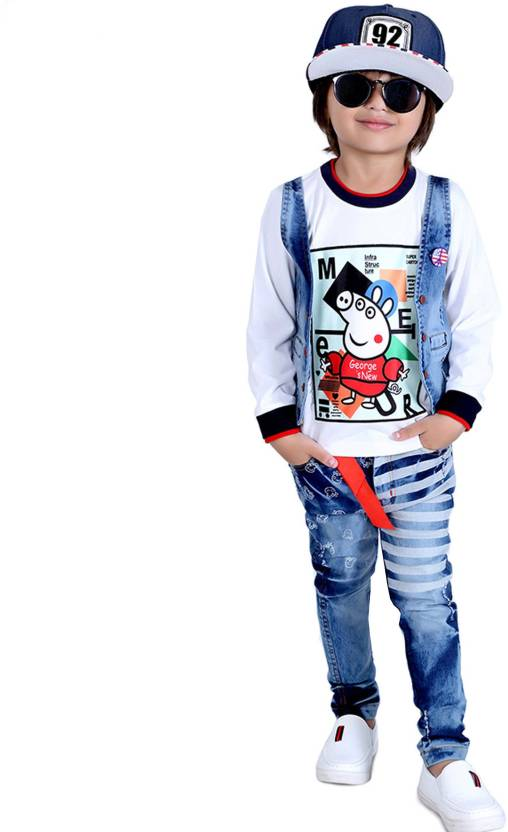 566061188 Bad Boys Boy's Casual T-shirt Jeans Price in India - Buy Bad Boys ...
