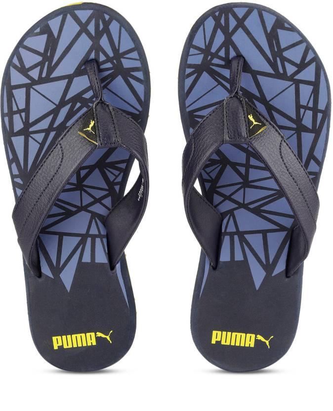 b8545c97127 Puma Wrens GU IDP Flip Flops - Buy Peacoat-Infinity-Fizzy Yellow Color Puma  Wrens GU IDP Flip Flops Online at Best Price - Shop Online for Footwears in  ...