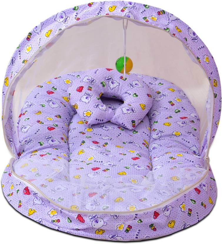 a905661d156 No Kidding New Born baby bedding set with protective mosquito net ...
