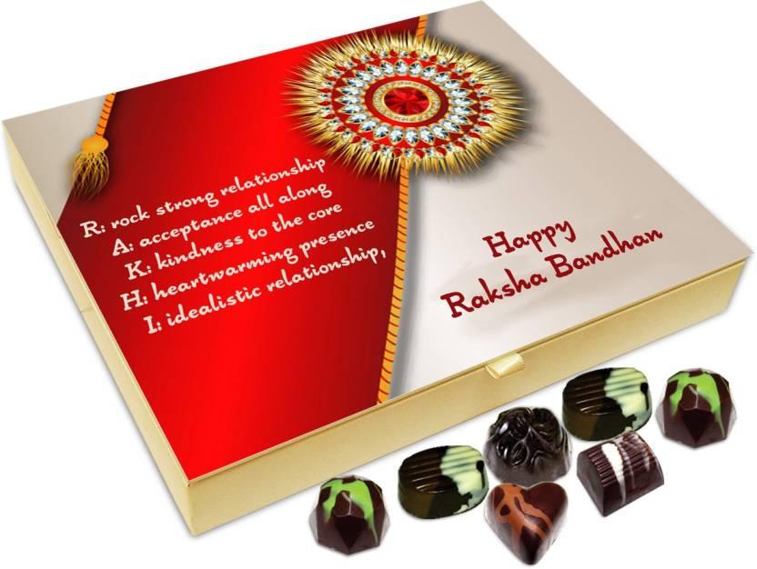 Chocholik Rakshabandhan Gift Box Beautiful Meaning Of Rakhi 20pc