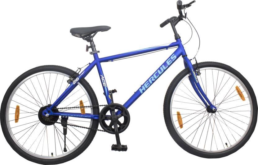 HERCULES ACE 26 T Hybrid Cycle/City Bike Single Speed, Blue  HERCULES Cycles
