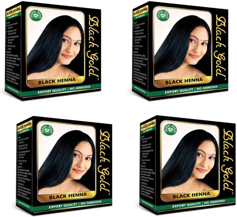 Black Gold Herbal Based Black Henna Export Quality No Ammonia