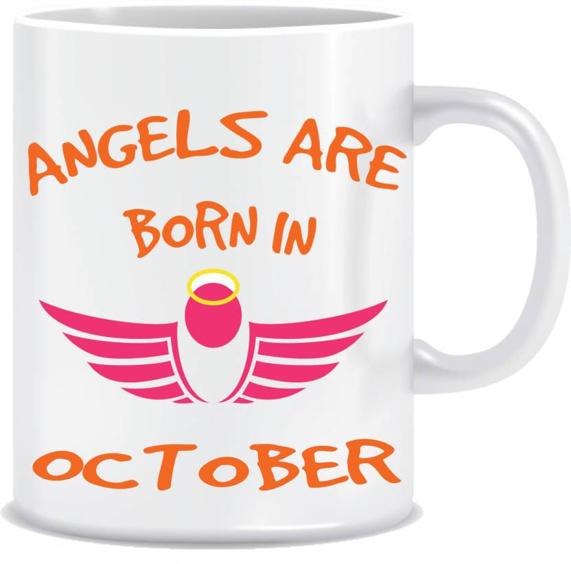 Everyday Desire Angels Are Born In October