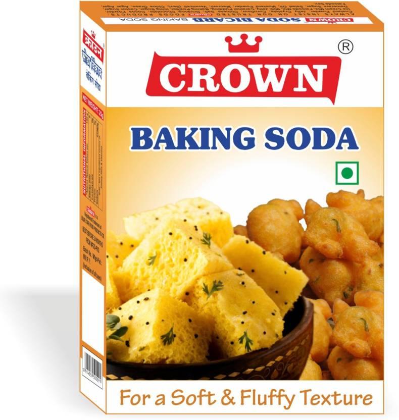 crown foods BAKING SODA 900 g (225 g X Pack of 4) Baking Soda Powder