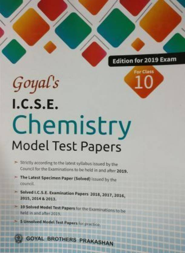 ICSE 2019 Chemistry Solved Question Paper YouTube icse solved