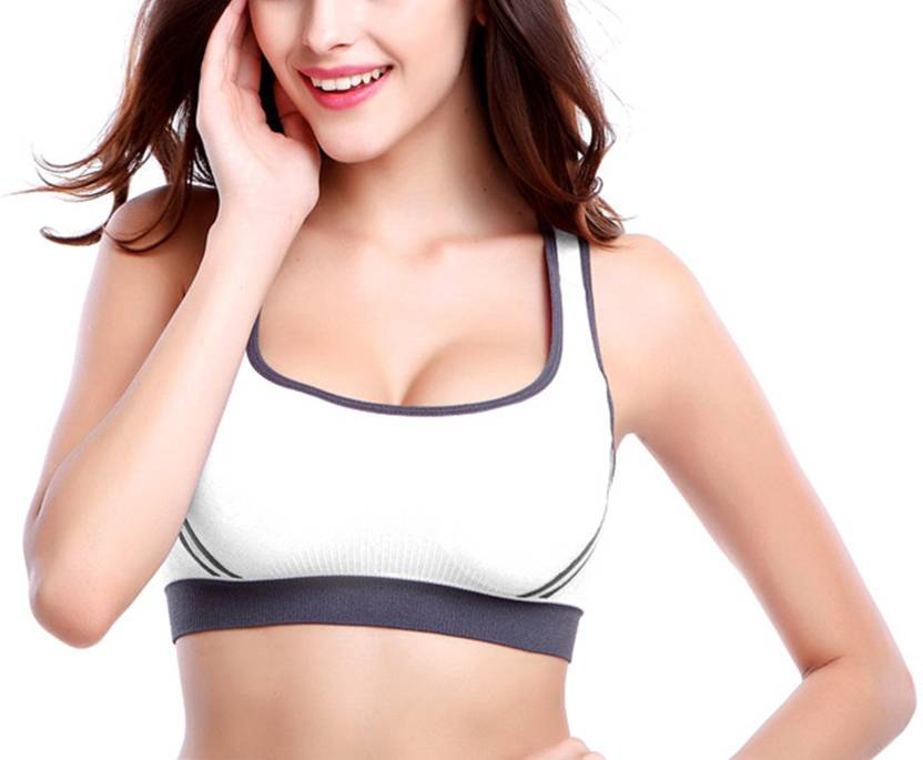 fe4376aaff Durva retail Women s Sports Lightly Padded Bra - Buy Durva retail ...