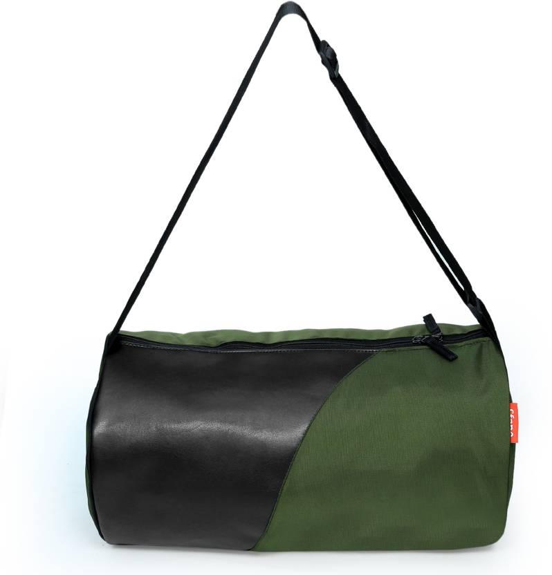 923fb970fd7 Sfane Trendy Sports Duffel Gym Bag Gym Bag (Green