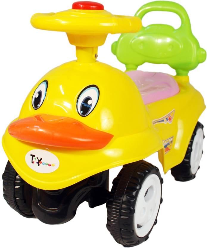 Toyhouse Tweety Lullu Car Non Battery Operated Ride On  (Yellow)
