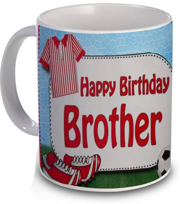 R B Store Birthday Gift For Brother Ceramic Mug
