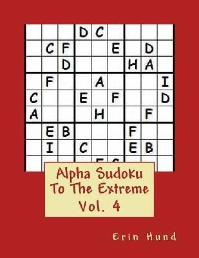 Alpha Sudoku to the Extreme Vol  4: Buy Alpha Sudoku to the Extreme