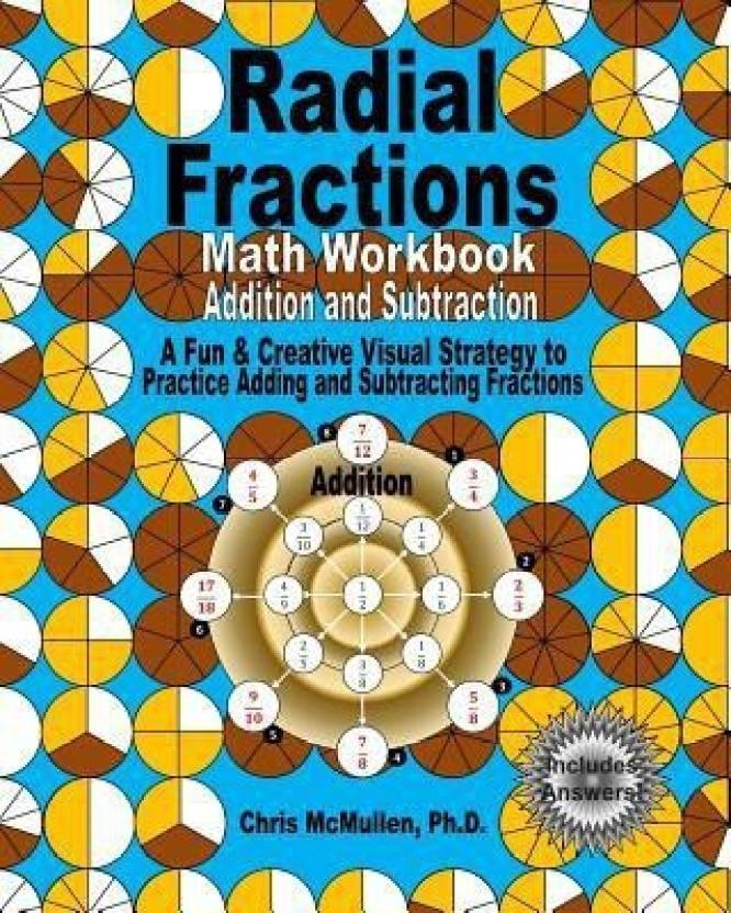 Radial Fractions Math Workbook (Addition and Subtraction) - Buy ...