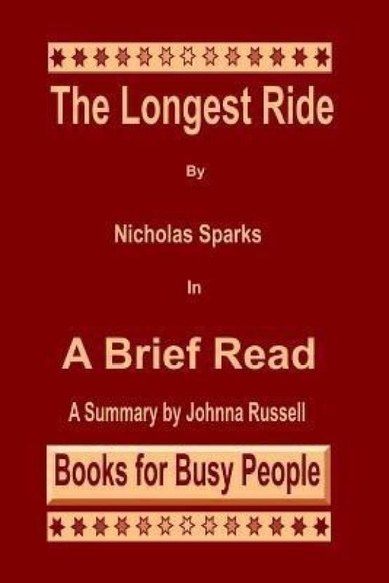 the longest ride book summary