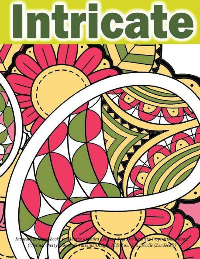 Intricate Coloring Books For Adults Buy Intricate Coloring Books