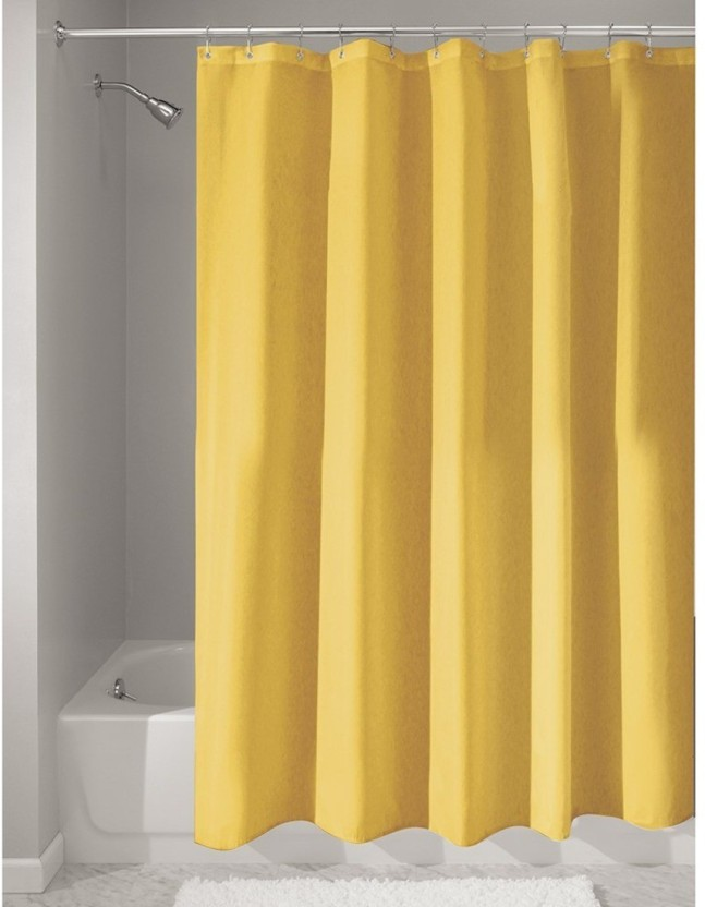 Wonderful Draperi 180 Cm (6 Ft) PVC Shower Curtain Single Curtain