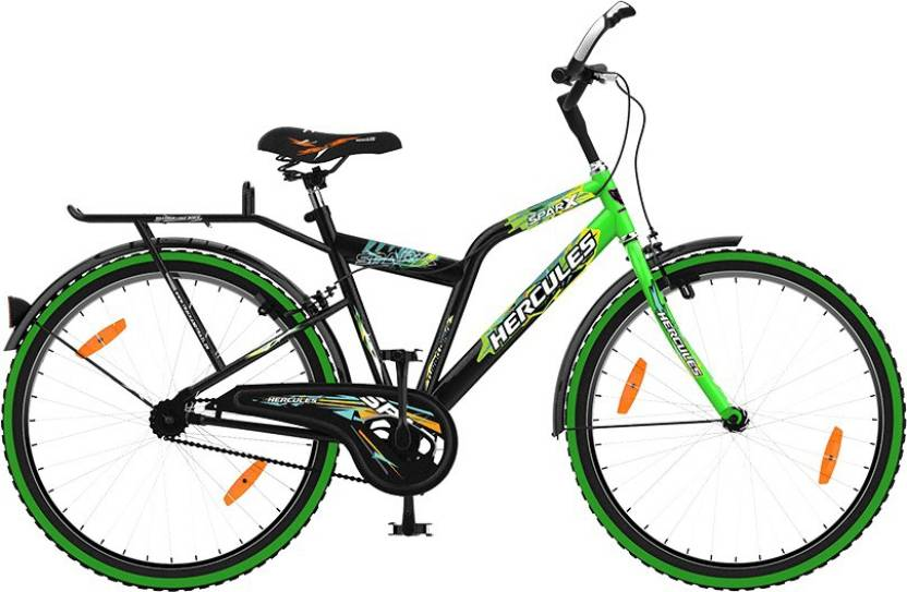 HERCULES Sparx 26 T Road Cycle Single Speed, Green