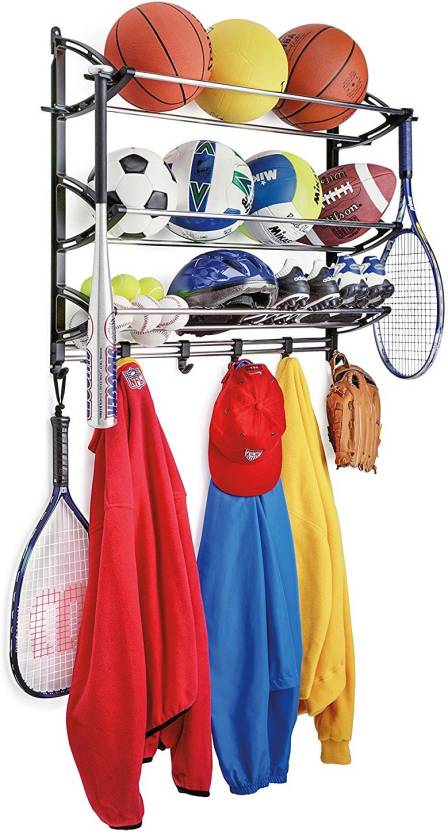 Continental Sports Equipment Storage Rack Garage Organizer Station Gear Shelving Ball Bag It N 31 Accessories Price In India