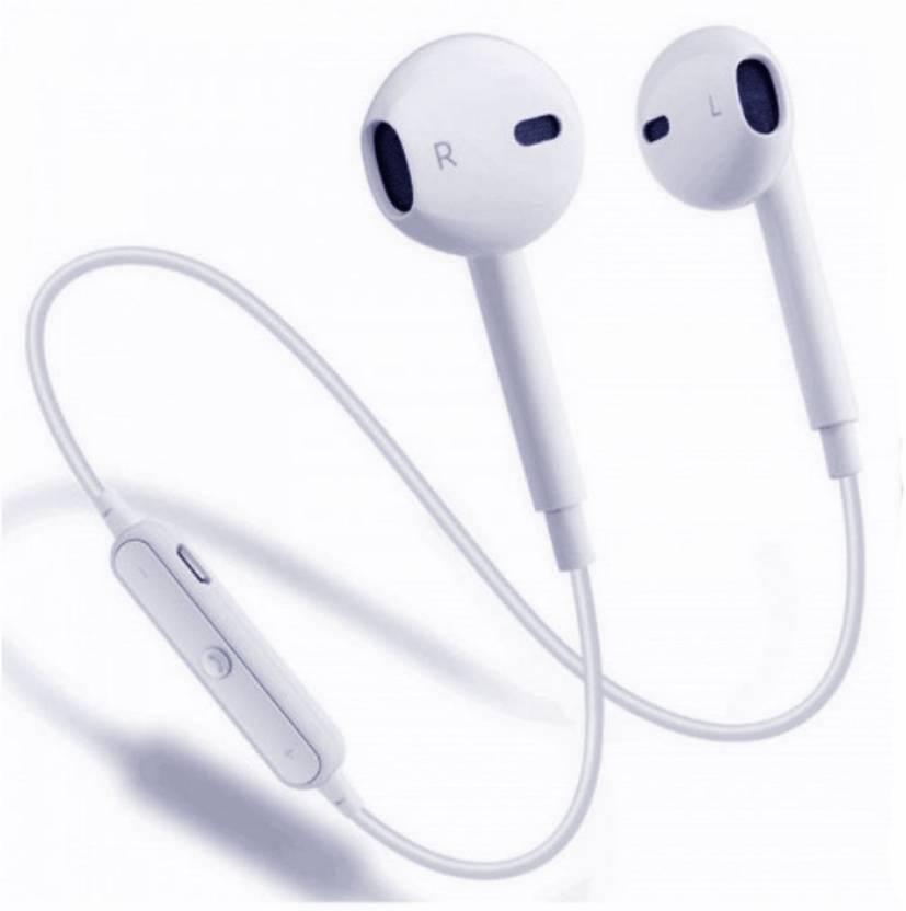 BUY GENUINE s-6 airpods earphones earbuds Apple samsung beats powered  wireless Jogger sports bluetooth running jogger earphone handfree ... 7cb10e82b058