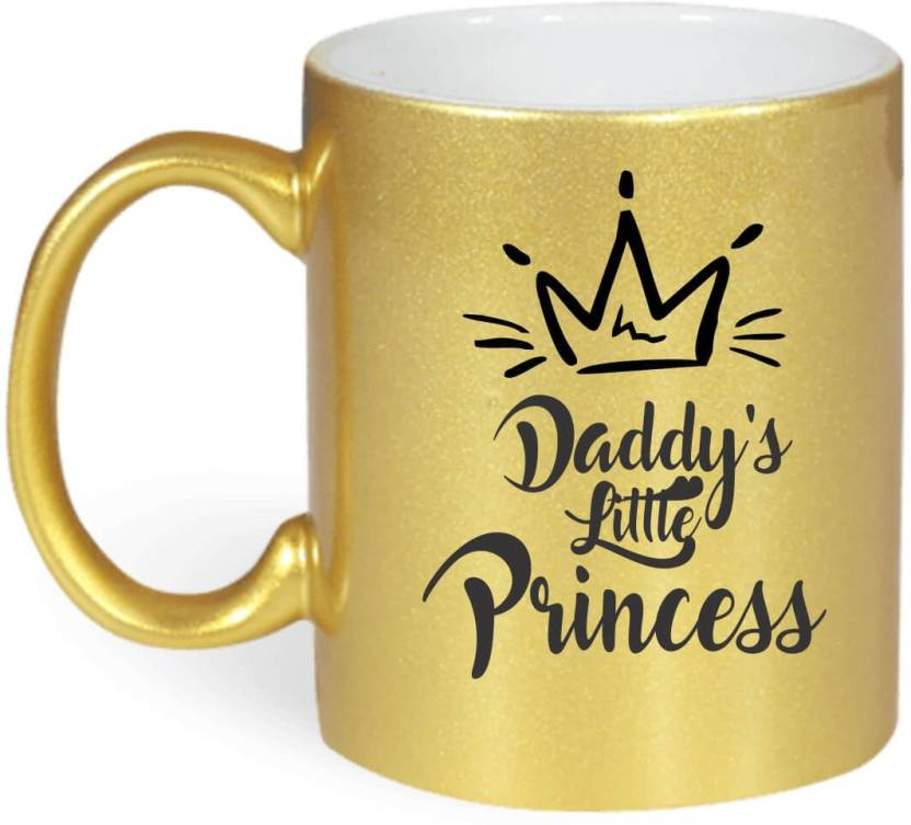 Giftsmate Birthday Gifts For Daughter Daddys Little Princess Coffee Ceramic Mug