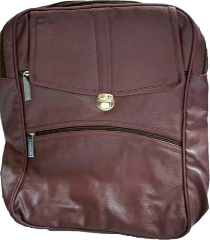 4dd7e9920a Aj style mp21 brown 7 L Backpack brown - Price in India