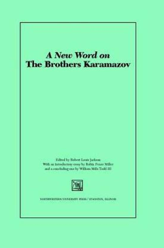 A New Word on the Brothers Karamazov( Series - Studies in