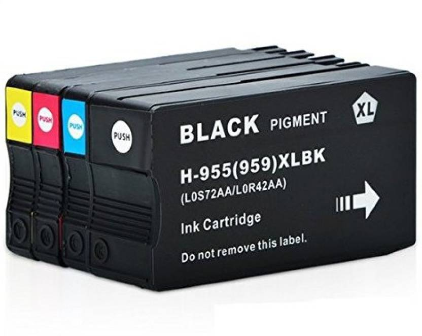 Printwell 955 XL Ink Cartridge (959XL) For HP 955 XL For Use In HP
