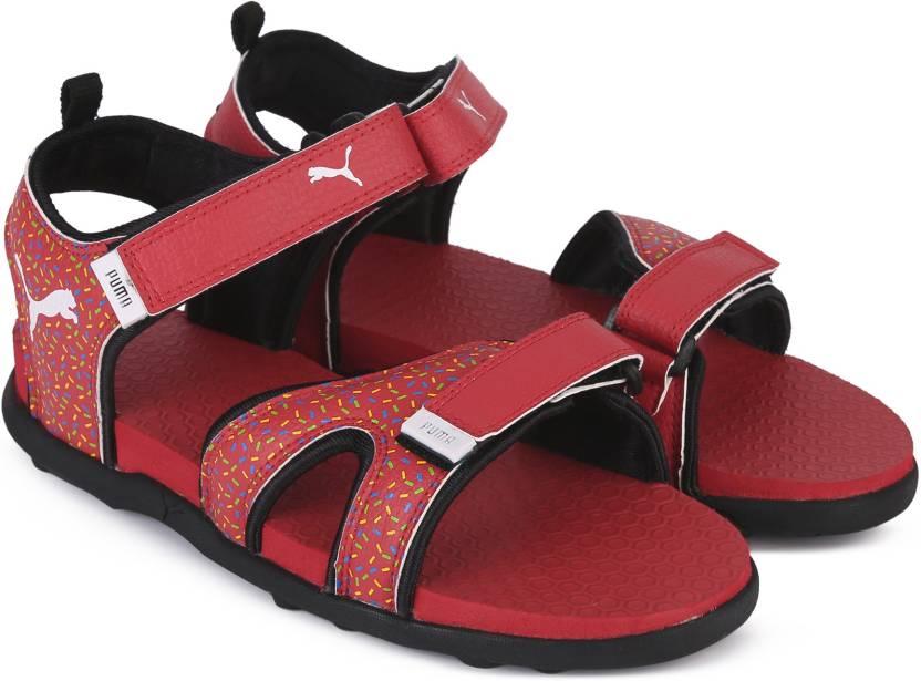 3a94db0c5f495 Puma Boys   Girls Velcro Sports Sandals Price in India - Buy Puma ...