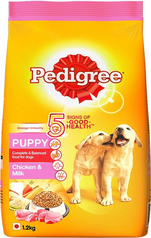 pedigree puppy chicken milk 1 2 kg dry dog food price in india