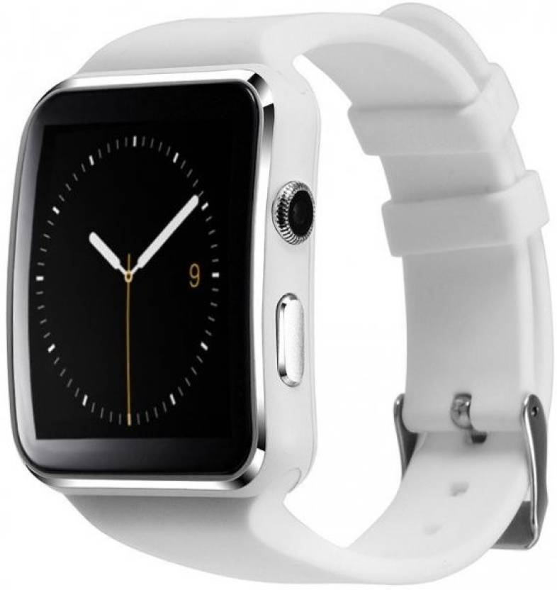 Raptas X6 Smartwatch IPS HD Curved Display Sync SMS Facebook