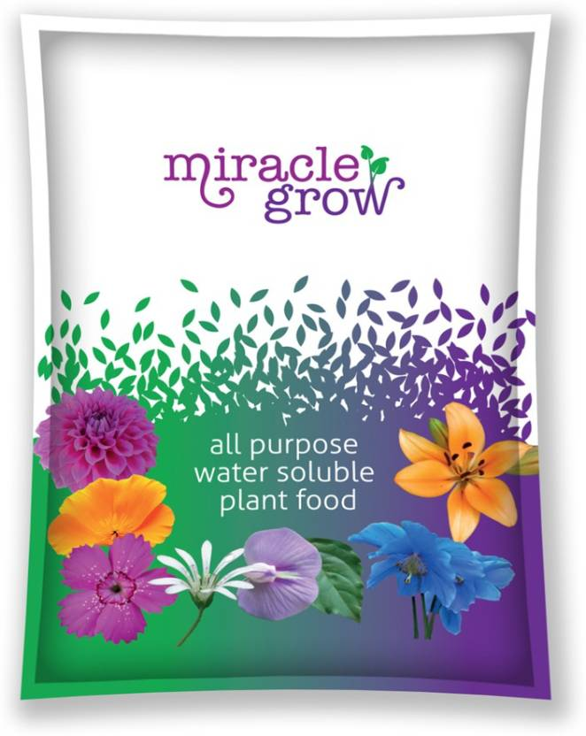 Divine Tree Miracle Grow All Purpose Water Soluble Npk Fertilizer Soil Manure