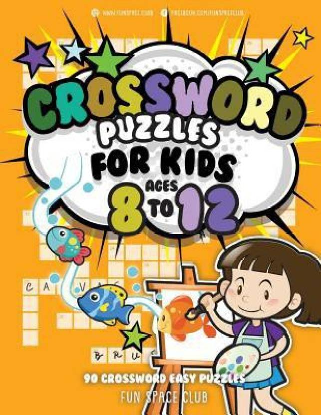 Crossword Puzzles for Kids Ages 8 to 12 - Buy Crossword