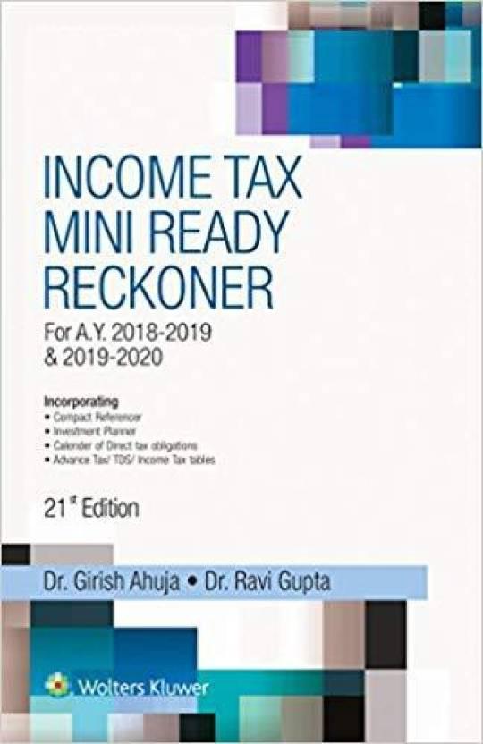 Income Tax Mini Ready Reckoner - Buy Income Tax Mini Ready Reckoner