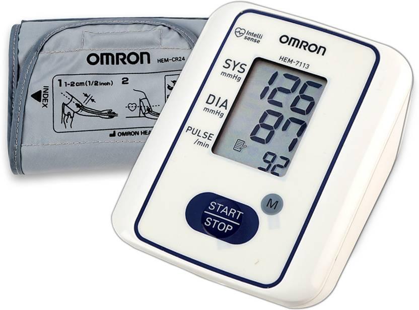 Omron Hem 7113 Hem 7113 Bp Monitor Omron Flipkart